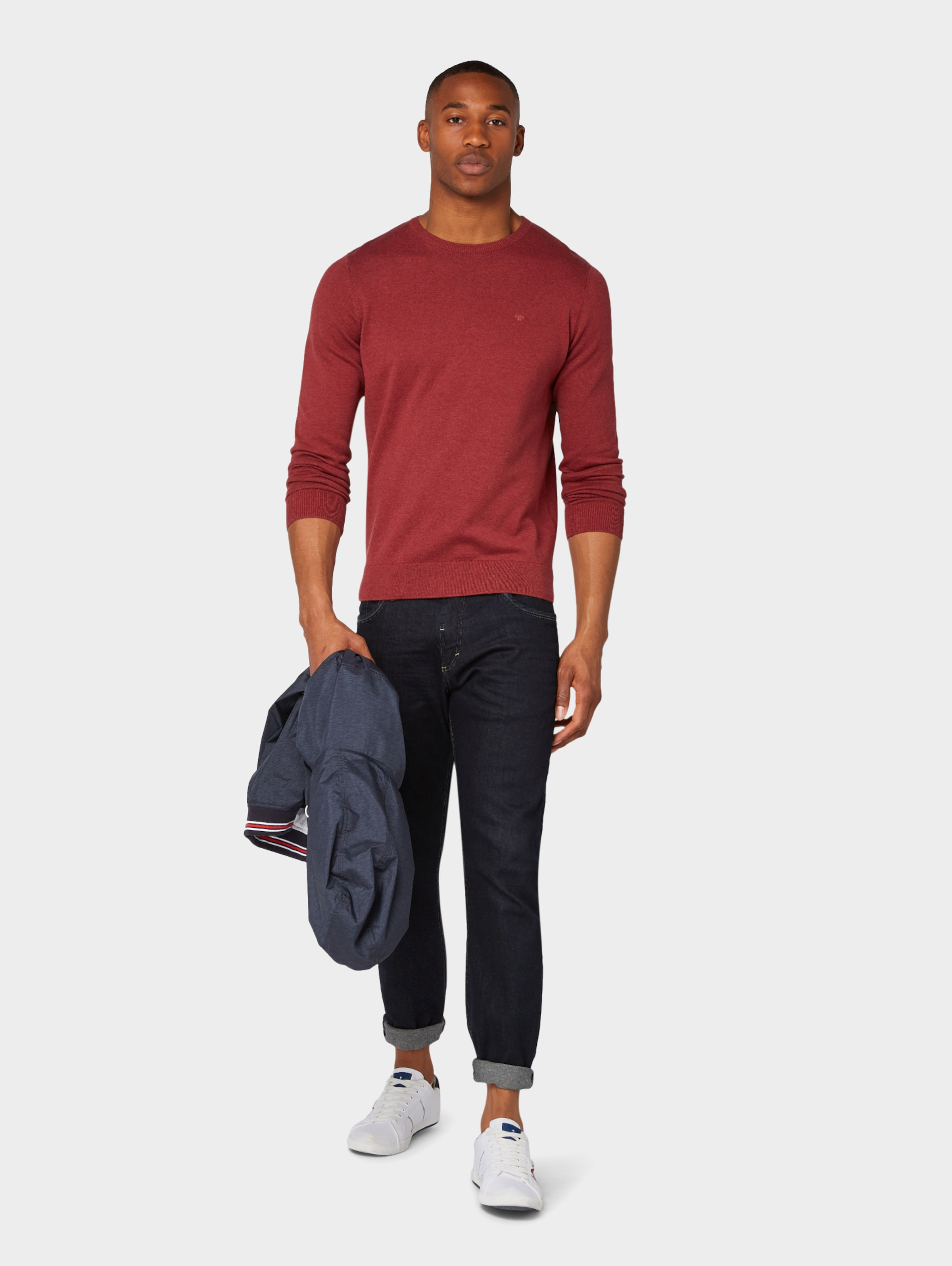 Rostrot Tailor Pullover Rostrot Tailor Tom In Tom Pullover Tailor In Tom Pullover 1JcTlFK