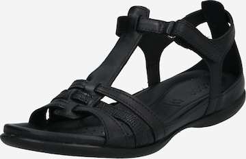 ECCO Strap Sandals 'Flash' in Black