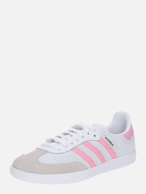on sale b9ee1 c83ed ADIDAS ORIGINALS Sneaker  Samba Og J C  in pink   weiß   ABOUT YOU
