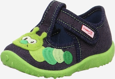 SUPERFIT Kapcie 'Spotty' w kolorze ciemny niebieski / zielonym, Podgląd produktu