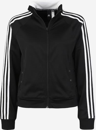 ADIDAS Athletics Trainingsjacke in schwarz / weiß, Produktansicht