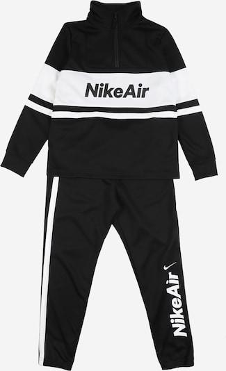 Nike Sportswear Trenirka za tek | črna / bela barva, Prikaz izdelka