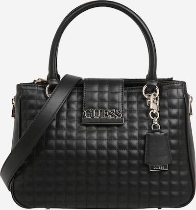 GUESS Handtasche 'Matrix' in schwarz: Frontalansicht