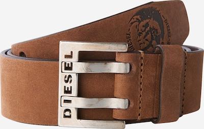 DIESEL Belt 'Bit' in brown / silver, Item view