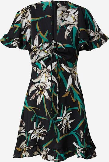 AX Paris Kleid  'Tropical' in mischfarben / schwarz, Produktansicht