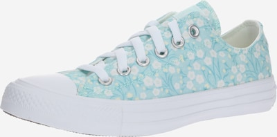 CONVERSE Sneaker in hellblau / weiß: Frontalansicht