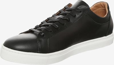 SELECTED HOMME Baskets basses 'Shdavid' en noir / blanc, Vue avec produit