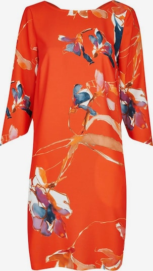 DANIEL HECHTER Kleid in himmelblau / helllila / dunkelorange, Produktansicht