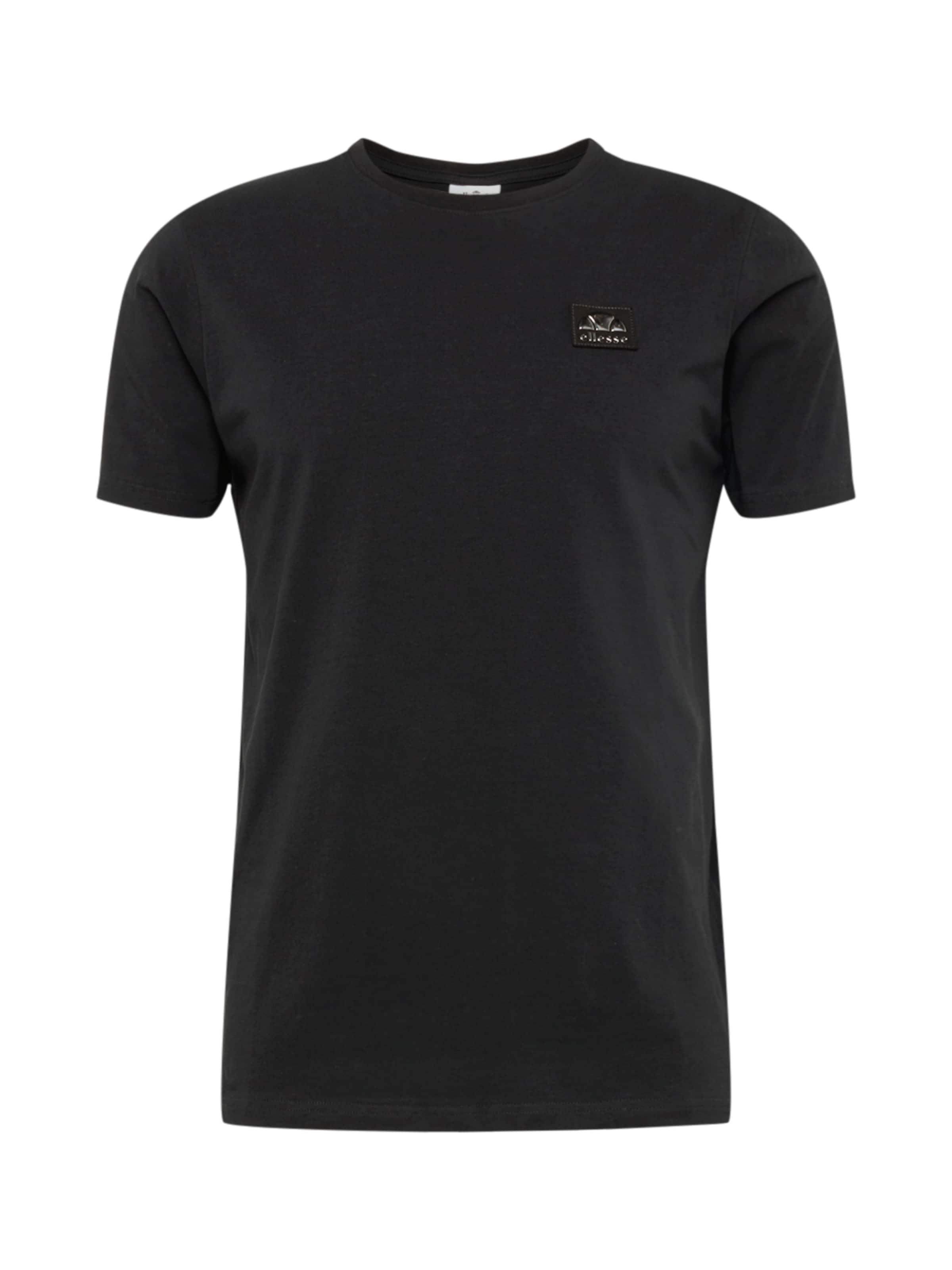 Ellesse 'gigante' Schwarz In shirt T 08nXOPwk