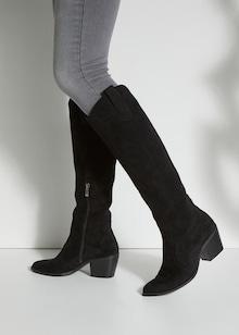 LASCANA Škornji | črna barva