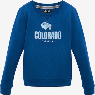Colorado Denim Sweatshirt 'BRYCE' in blau / azur, Produktansicht