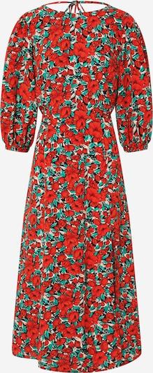 Louche Kleid 'RILEY ZINNIA' in jade / rot / offwhite, Produktansicht