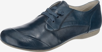JOSEF SEIBEL Lace-Up Shoes 'Fiona' in Blue