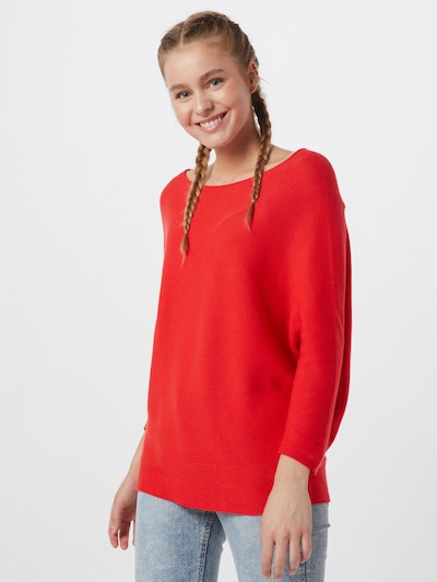 COMMA Pullover in rot, Modelansicht