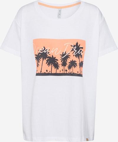 Blend She T-shirt 'COMO' en blanc, Vue avec produit