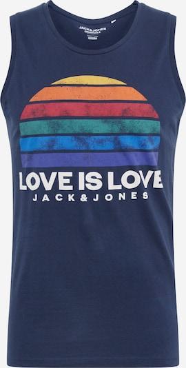 JACK & JONES Koszulka 'JORPROUD' w kolorze granatowym: Widok z przodu