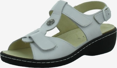 Longo Sandale in weiß, Produktansicht