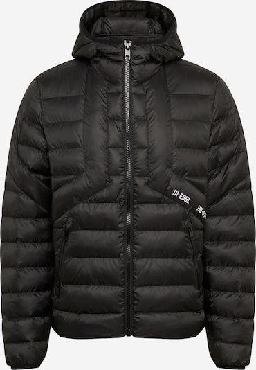 DIESEL Prehodna jakna 'DWAIN ' | črna barva, Prikaz izdelka
