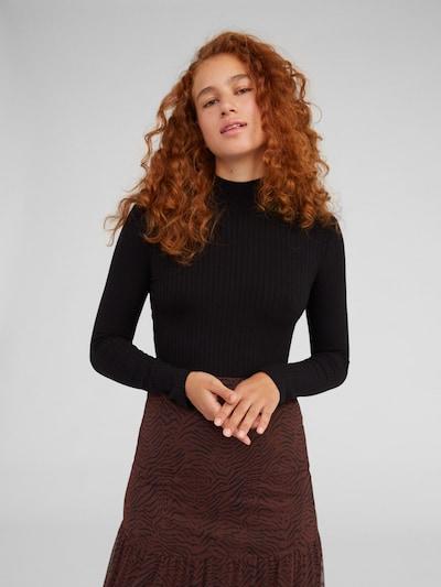 EDITED Shirt 'Manon' in de kleur Zwart, Modelweergave