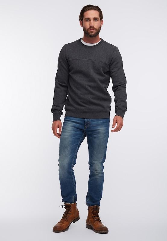 DREIMASTER Sweatshirt in in in dunkelgrau  Großer Rabatt 9656a3