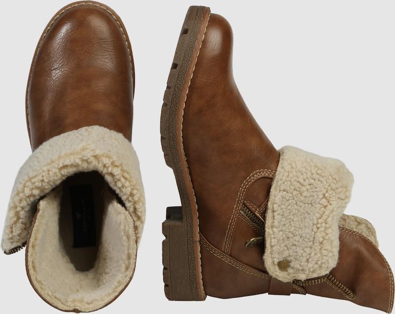 TOM TAILOR | Stiefel mit Riemen Schuhe Gut getragene Schuhe