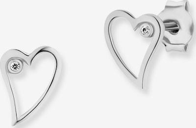caï Ohrstecker 'love Swingin Heart' in silber, Produktansicht