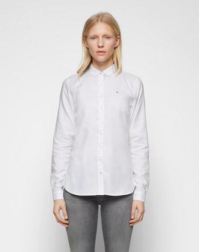 Bluză TOMMY HILFIGER pe alb, Vizualizare model