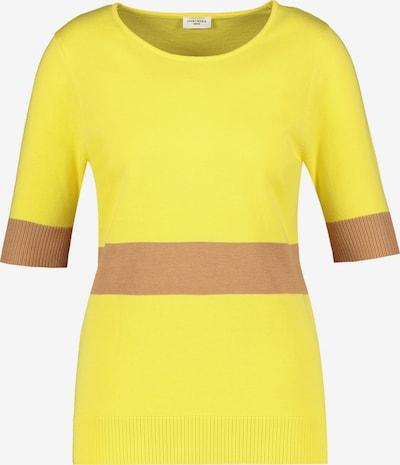 GERRY WEBER Pullover in braun / gelb, Produktansicht
