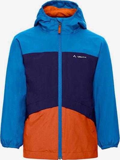 VAUDE Jacke in blau / dunkelblau / orange, Produktansicht