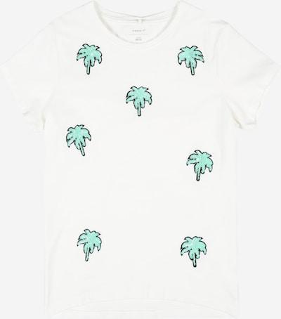NAME IT Tričko 'Jamia' - zelená / biela, Produkt