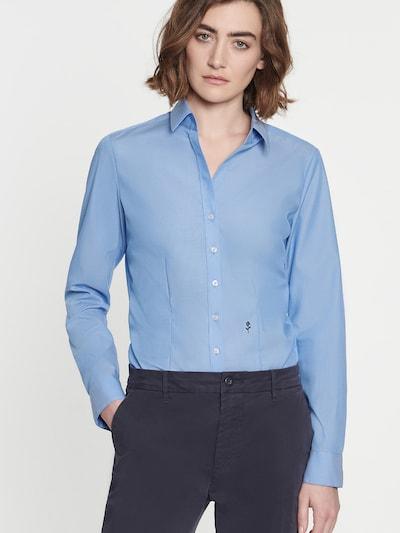 SEIDENSTICKER Bluse 'Schwarze Rose' in hellblau, Modelansicht