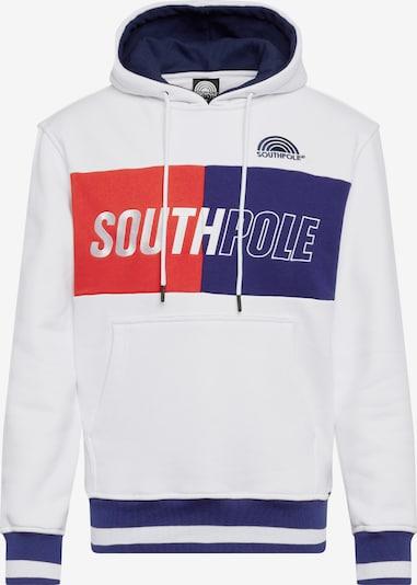 SOUTHPOLE Sweatshirt in navy / rot / weiß, Produktansicht