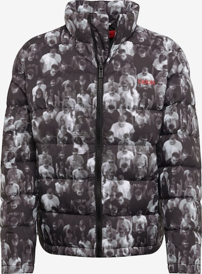 HUGO Winterjas 'Biron' in de kleur Zwart, Productweergave