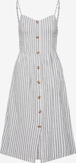 ONLY Kleid 'onlLuna Strap Stripe DNM QY T' in dunkelgrau / weiß, Produktansicht