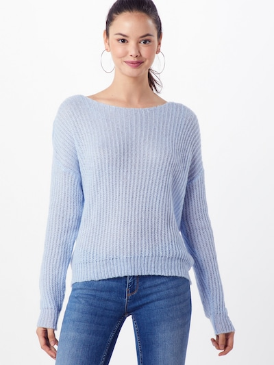 Megztinis iš Missguided , spalva - šviesiai mėlyna: Vaizdas iš priekio