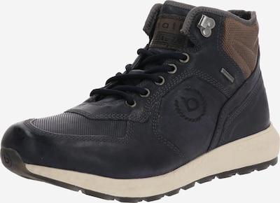 bugatti Stiefel 'Koven' in dunkelblau / braun, Produktansicht