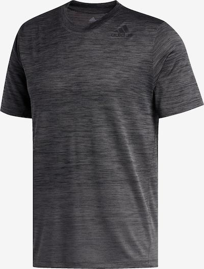 ADIDAS PERFORMANCE Shirt in dunkelgrau: Frontalansicht