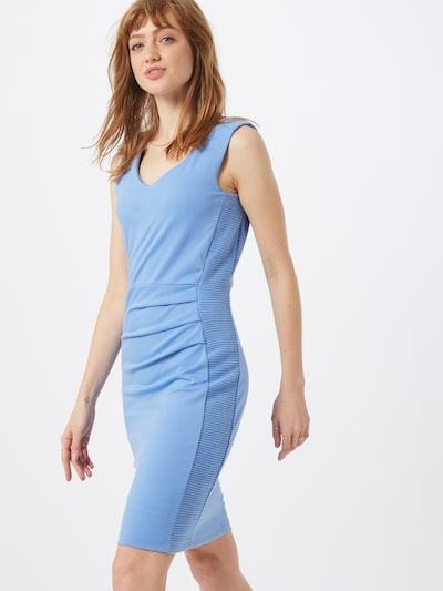 Kaffe Kleid  'Sara' in hellblau, Modelansicht