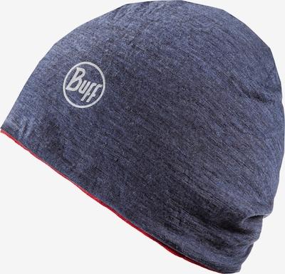 BUFF Set Mütze und Schal in blau / rot, Produktansicht