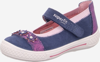 SUPERFIT Ballerines 'Tensy' en bleu, Vue avec produit