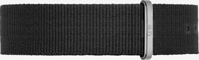 Daniel Wellington Uhrenarmband in schwarz / silber, Produktansicht