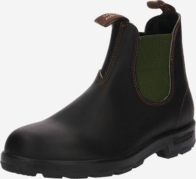 Blundstone Chelsea boty - tmavě hnědá / zelená, Produkt