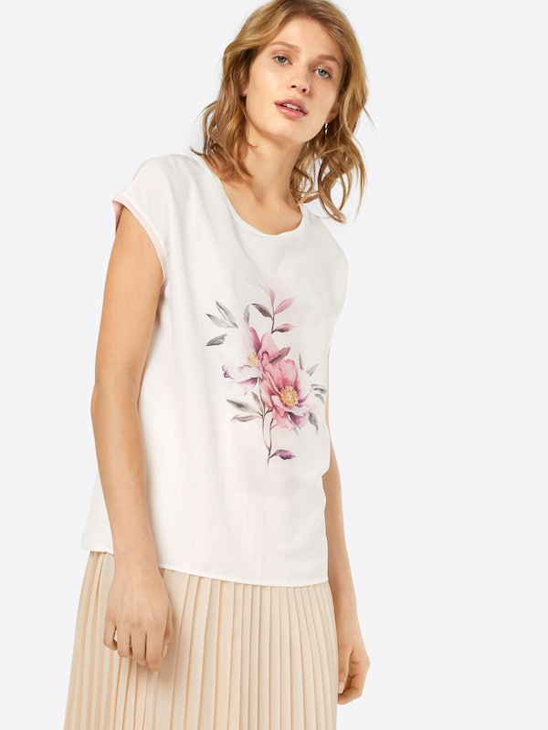 Esprit Collection T-Shirt 'Flower Embro'