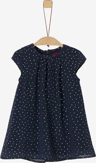 s.Oliver Junior Kleid in enzian / weiß, Produktansicht