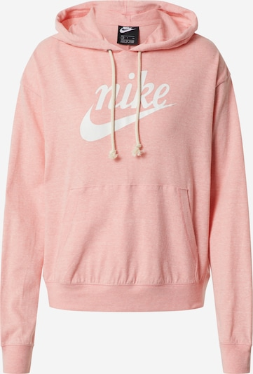 Nike Sportswear Sweatshirt in koralle / weiß, Produktansicht