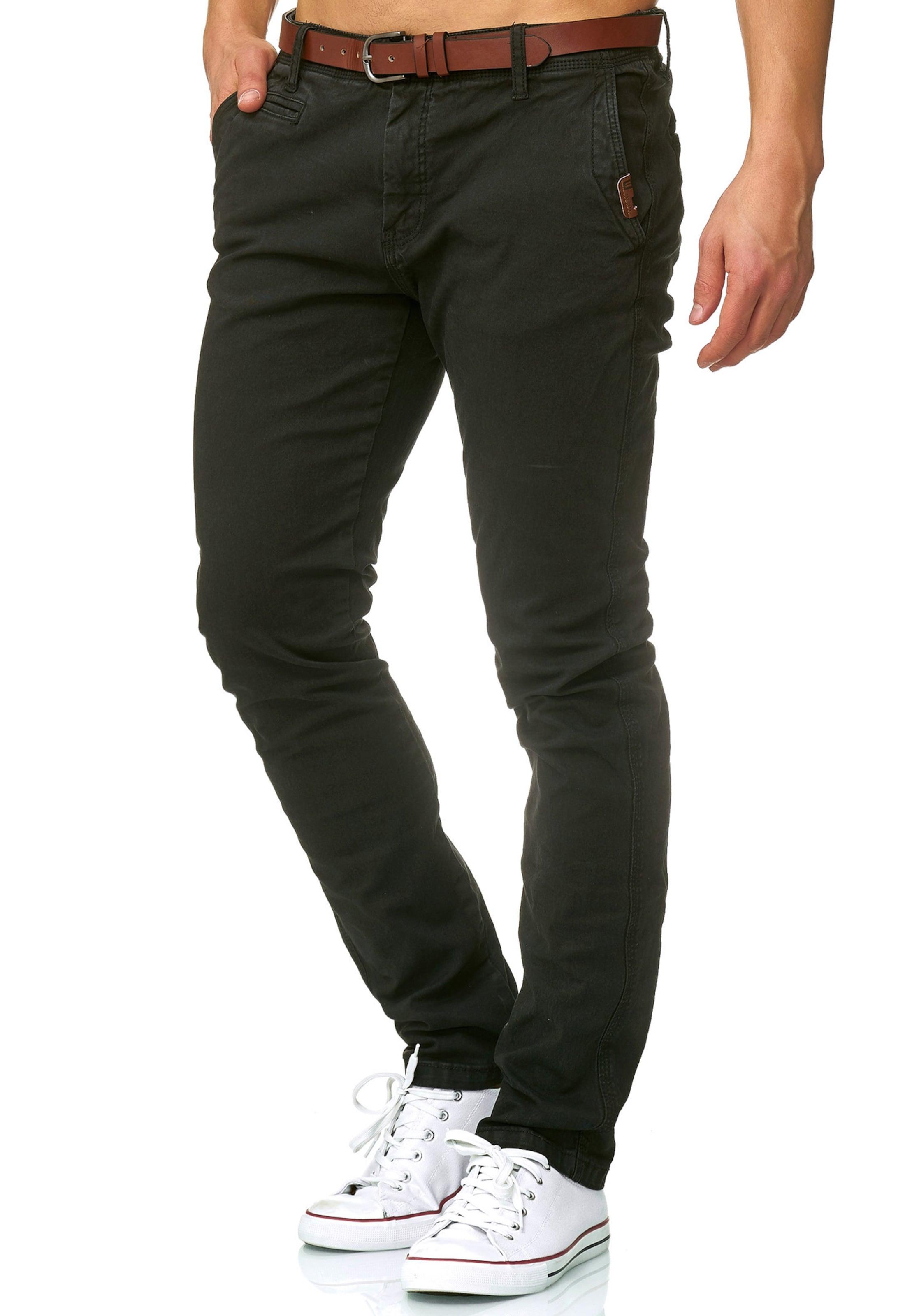 In Schwarz Indicode Chino 'cherry' Jeans clTK1FJ3