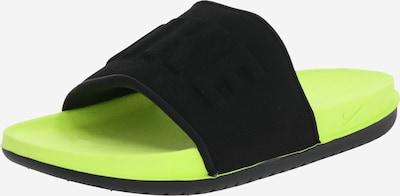Nike Sportswear Ranna- ja ujumisjalats 'Offcourt' kollane / must, Tootevaade