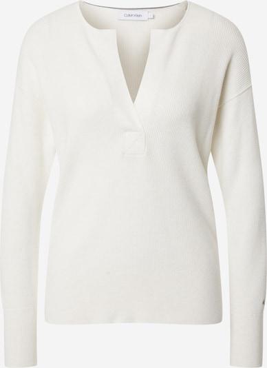 Calvin Klein Trui in de kleur Wit, Productweergave