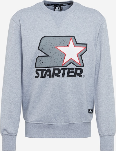 Starter Black Label Sweat-shirt en gris, Vue avec produit