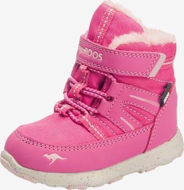 KangaROOS Winterstiefel in Pink